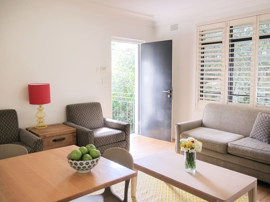 One Bedroom Apartment - Living room