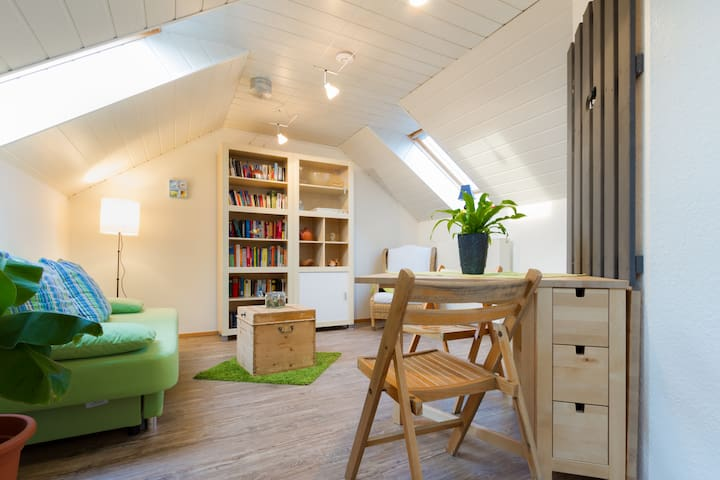 flat for guests in wooden house