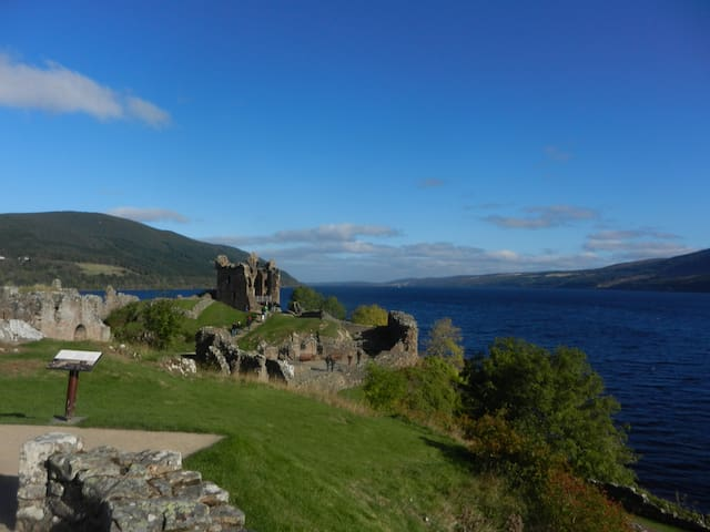 Twin-bedded Room, near Loch Ness  - Inverness - Inap sarapan