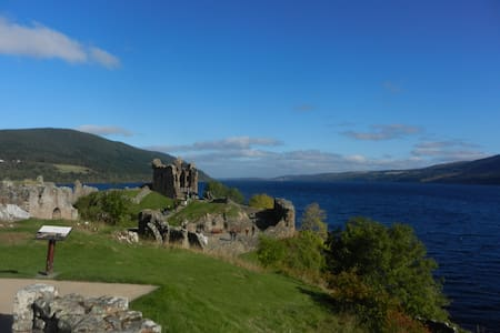 Twin-bedded Room, near Loch Ness  - Inverness