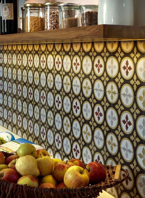 Unsere Küche im Seminarhaus.