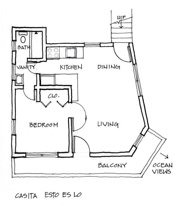 Top Floor layout