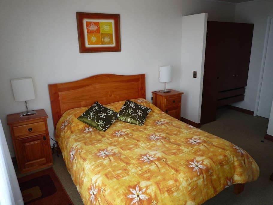 Dormitorio en suite, 2 plazas