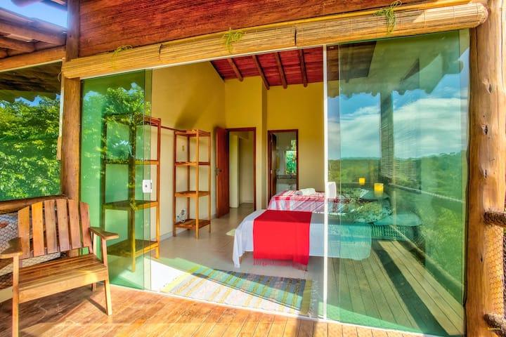 Suítes superior Paraíso da Mata Guesthouse
