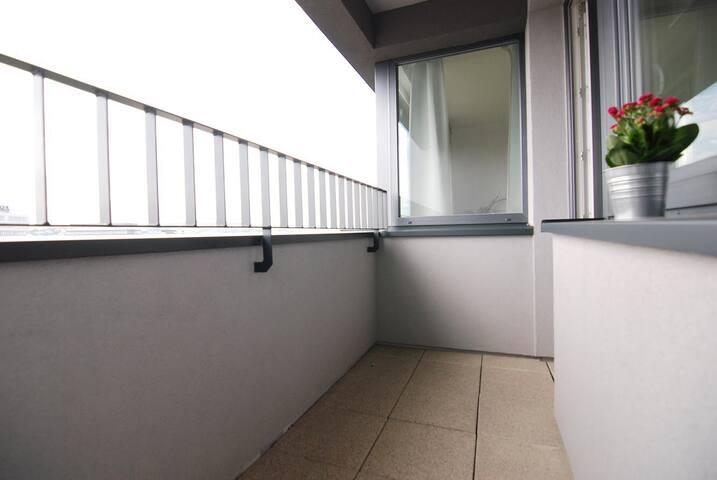 Big balcony