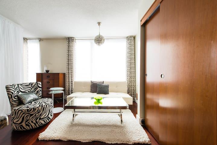 """La Cynthia"" Luxury in the Old Port - Montreal - Apartemen"