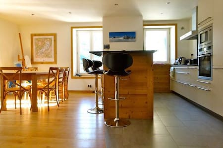 CENTRE OF TOWN! BEAUTIFULLY RENOVATED 94 M2 FLAT - Chamonix - Daire