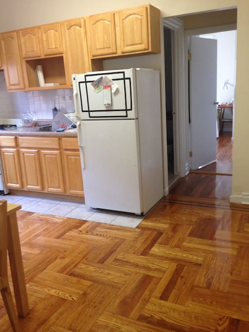 This is the Kitchen and common space.