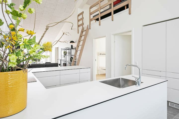 Lussuosa casa vacanze a Ringkøbing vicino alla spiaggia