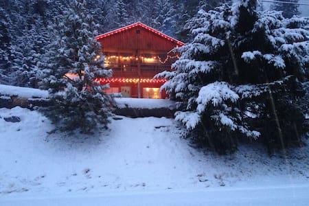 Cozy Cabin 3BD w/Hide-a-bed Sleep 8 - Leavenworth - Kisház