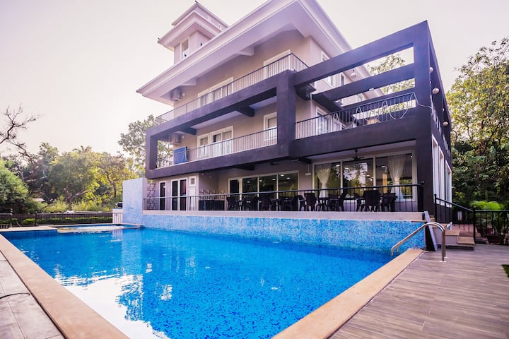 Luxury 2BHK Apartment with Pool Anjuna - Vagator