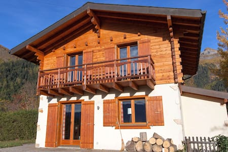 Chalet Cassiopée rustique & confort - Chatka w górach