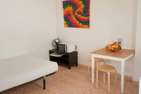 Comfy studio with terrace center of Gracia - Barcelona - Lägenhet