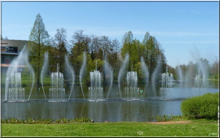 Le jardin franco-allemand
