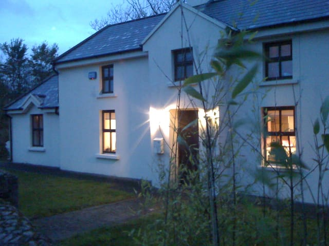 200 yr old cottage on 3 acres, bbq , open fire - Duncormick