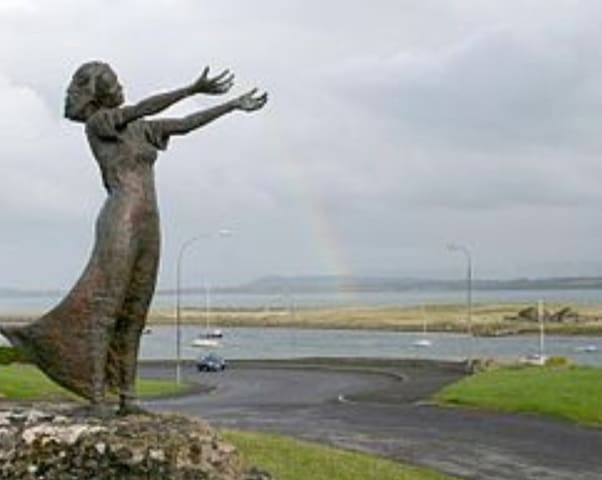 Waiting on the shore Rossespoint Sligo