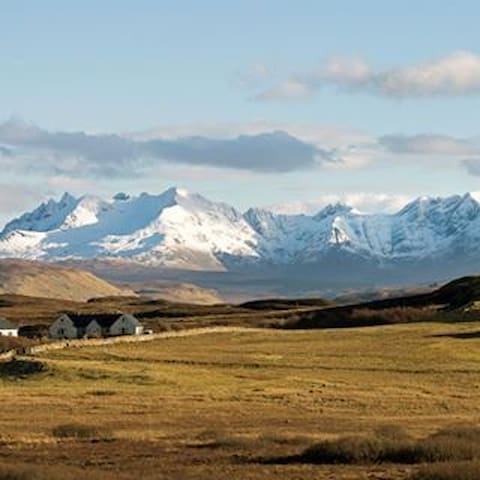 """Cuillin"" @ Foxwood on Skye B&B SuperKing+Single - Struan - Bed & Breakfast"