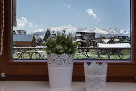 Apartment, view at Tatra Mountains - Murzasichle