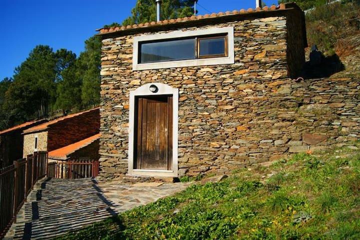 Casas de Xisto Altaneira - Manteigas - วิลล่า