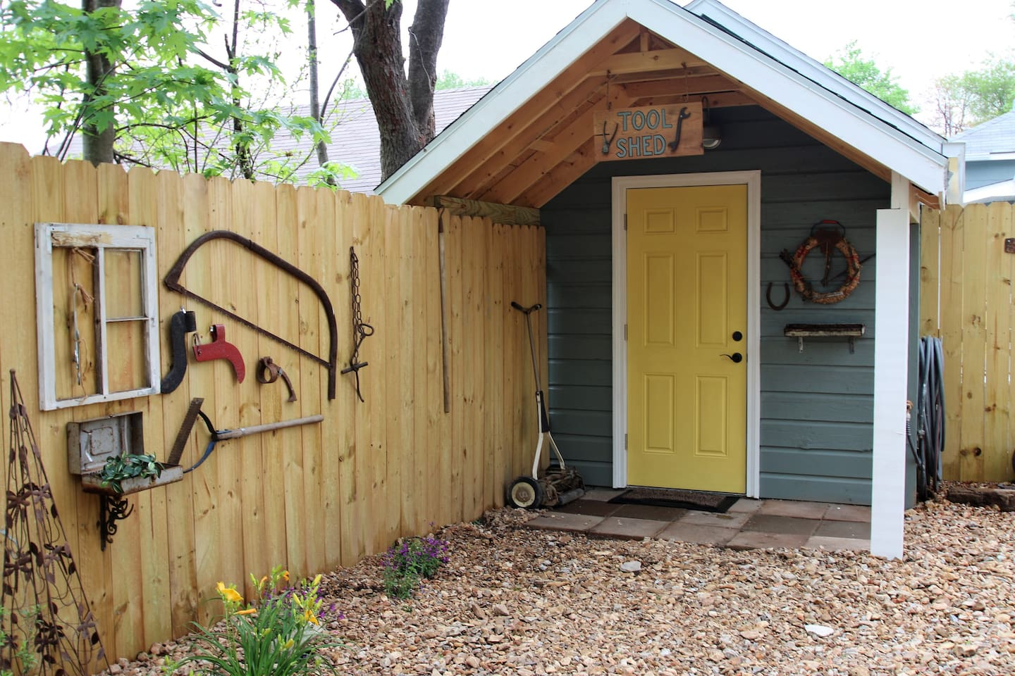 "The ""TOOL SHED""  - shed converted into a ""tiny house"""