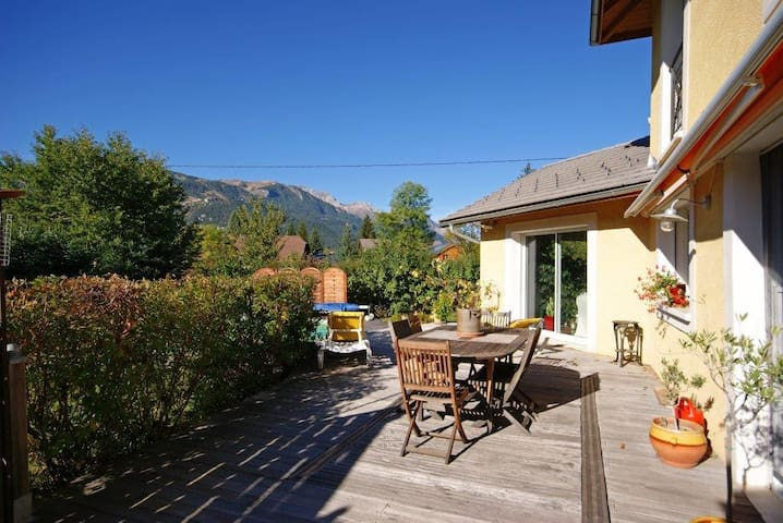 House 4 *, 6 - 10 pers. close ski resorts - Barcelonnette - Casa