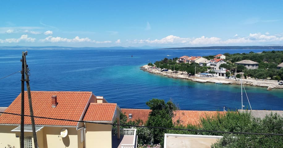 Apartment Mendula with beautiful Seaview - Lun - Daire