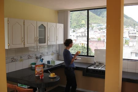 Cozy Studio in Baños, Great views. - Baños - Apartamento