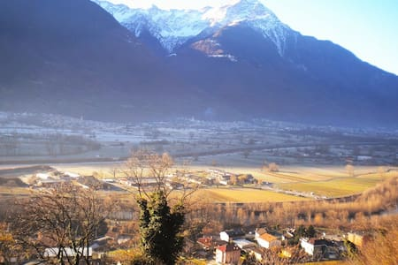 B&B The owl - Valtellina - Cercino fraz. Piussogno - Bed & Breakfast