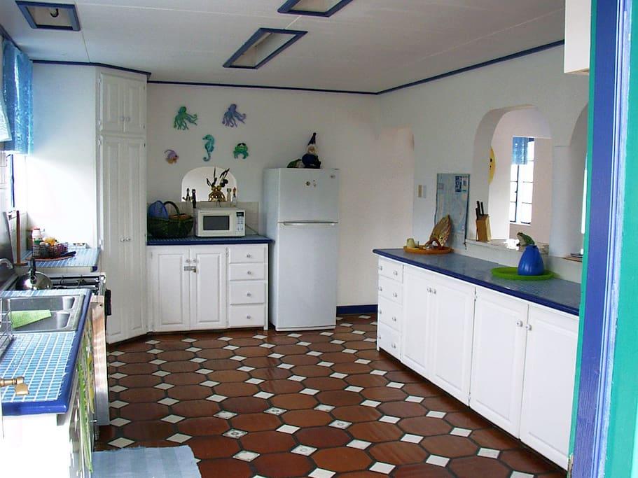 Villa Marie's kitchen
