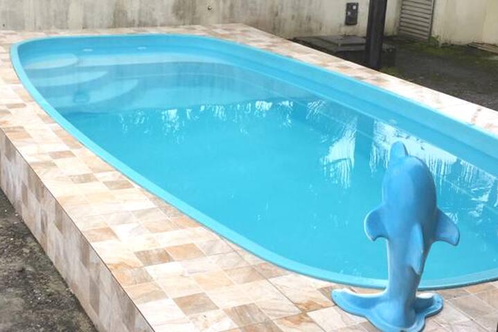 Casa temporada piscina, Costazul - 500mts da praia