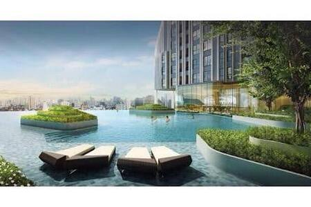 Brand New Modern, Near Subway Center Bangkok,Wifi - Bangkok - Apartment