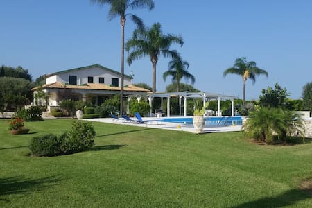 Villa con Piscina - Siracusa  - Hus