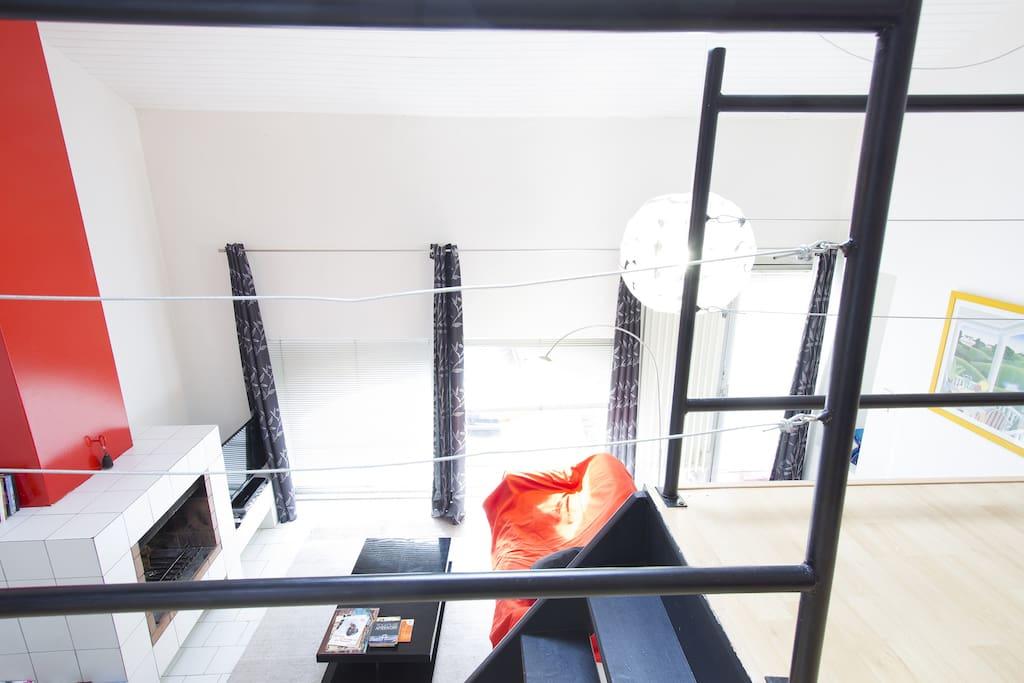 Loft hyper centre garage priv appartements louer for Louer garage toulouse