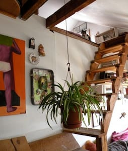 Split-Level Loft at Better Farm - Redwood - Maison
