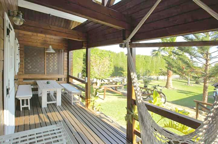 Amazing bungalow with garden & Wifi