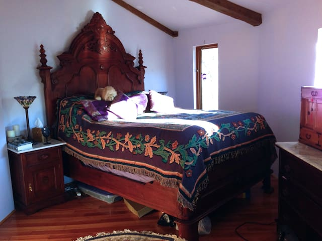 Majestic master suite with queen bed!
