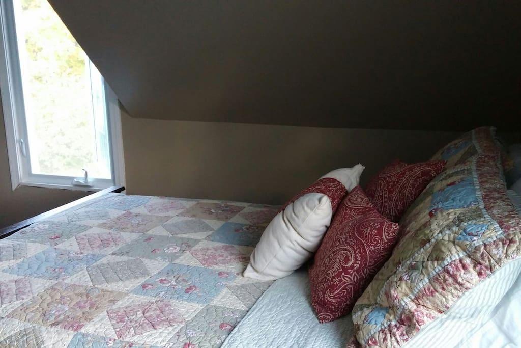 Forsman Room, 1 Double bed, 1 Queen bed.