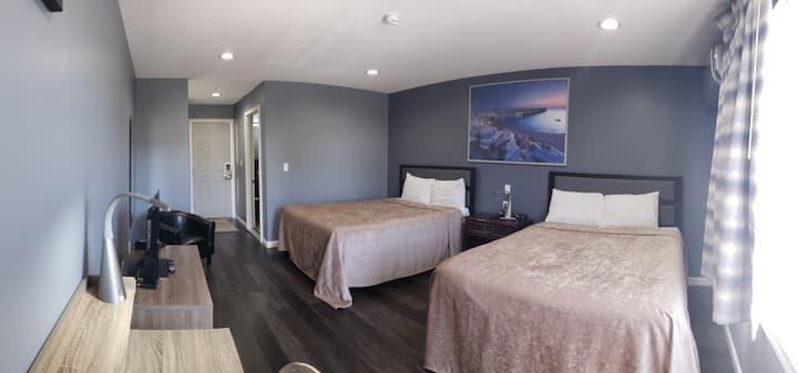 Private - Cloud Comfort Double Queen Bed Room