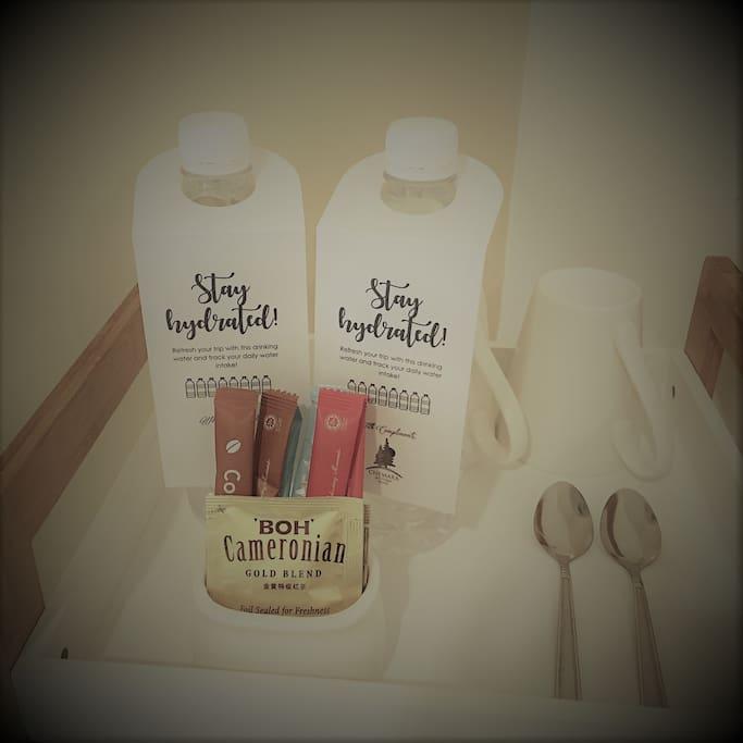 Complimentary Coffee & Tea Facility