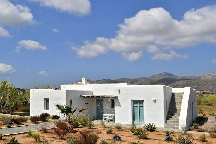 Beautiful house for 6 next to Molos beach in Paros