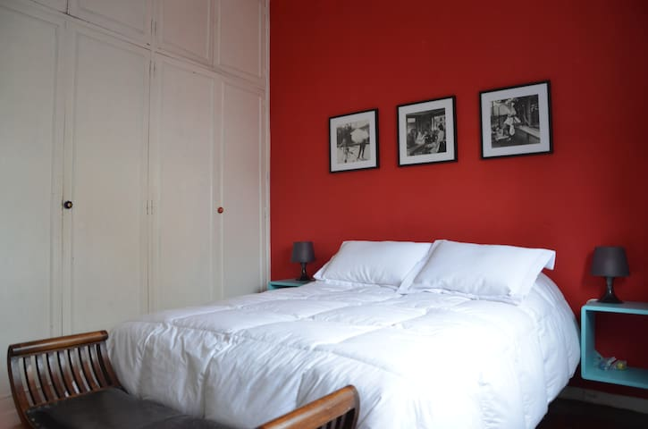 quiet and bright in Colegiales - Buenos Aires - Apartament