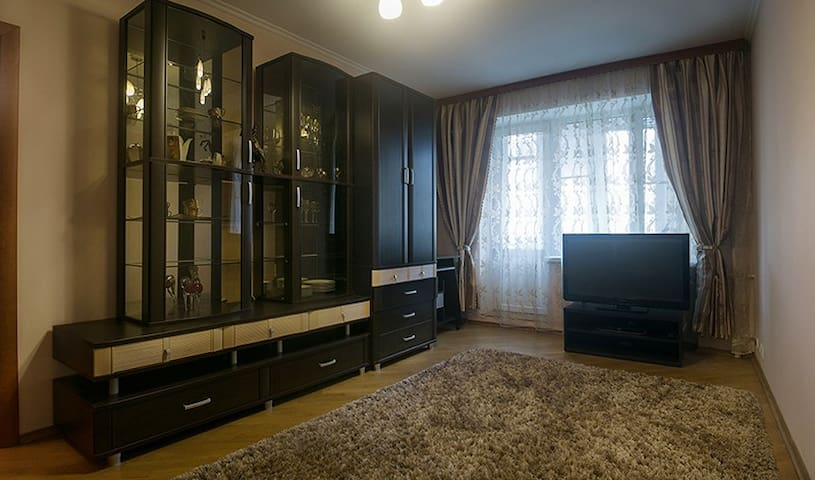 2rooms cozy flat near the Old Arbat
