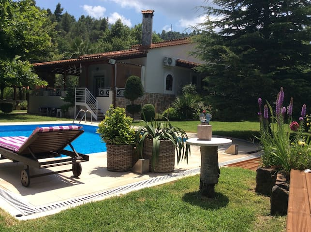 Villa with pool  in the forest !!