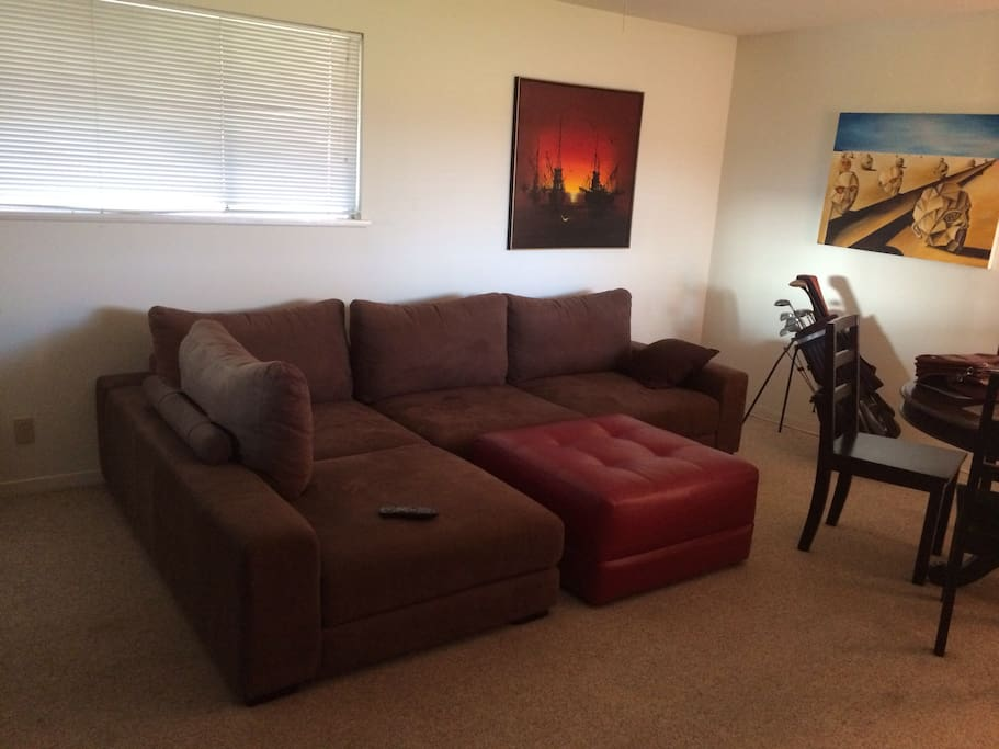 Common area living room