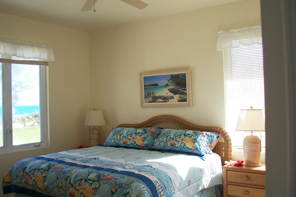 Conch Shell master bedroom