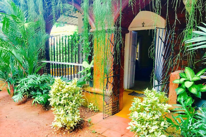 TWO BEDROOM house in a SENIC & QUIET goan village