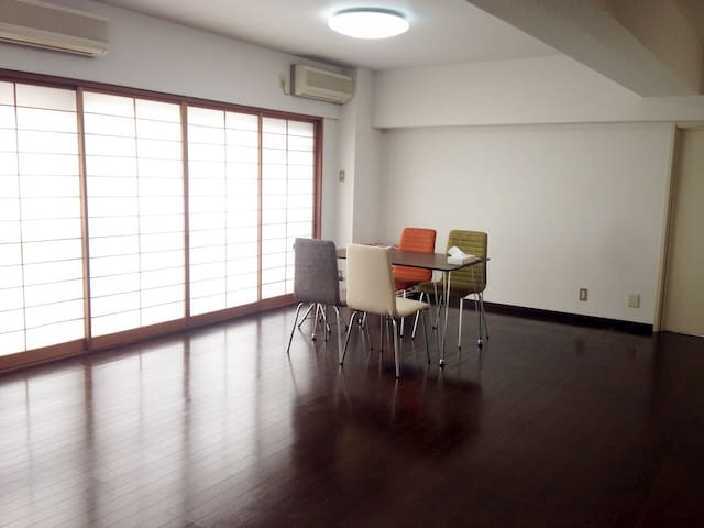 Clean & Wide Room Near Sushi Market - Koto - Apartamento