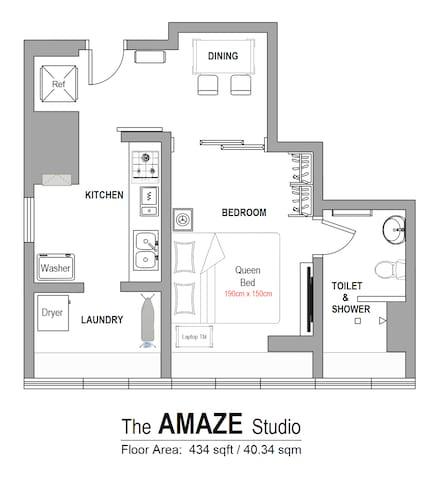 Floor Plan : AMAZE