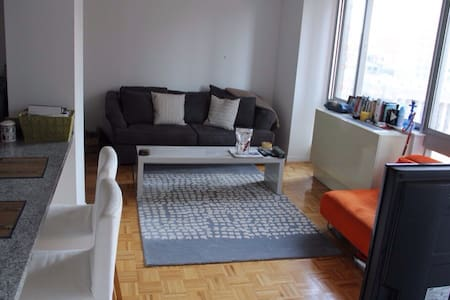 1bed in 2bed 2bath Tribeca Lux Apt