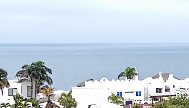 Vista al Mar segura Urb exclusiva playa dpt grande